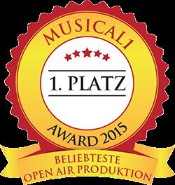 Beliebtestes Open Air Musical 2015
